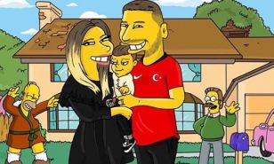 Ünlü futbolcular Simpsons karakterine dönüştü