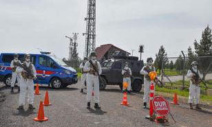 Karantinaya alınan bölgelere giriş ve çıkışlar güvenlik güçlerince yasaklandı!