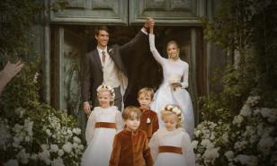 Görkemli düğün: Dünyanın en zengin 3. kişisinin oğlu evlendi!