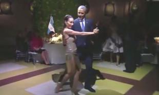 Obama'ya tango sürprizi