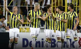 Fenerbahçe kazandı,capsler patladı
