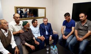 Erdoğan'dan Beştepe önünde öldürülen genç için taziye ziyareti