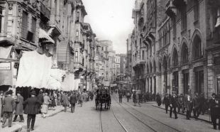 1931 yılında İstanbul sokakları