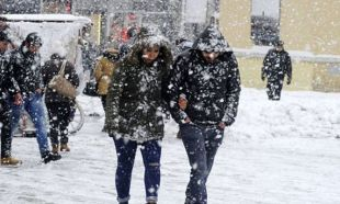 Kar İstanbul'a geri döndü