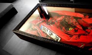 Ferrari'nin Sonu Salon Sehpası Oldu