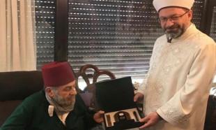 Diyanet'ten Kadir Mısıroğlu'nu ziyaretle ilgili açıklama