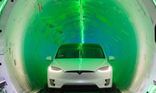 Elon Musk yüksek hızlı araç tünelini tanıttı