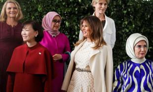 G20 Zirvesi'nde First Lady'lerin şıklık yarışı