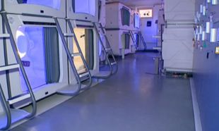Uzay kapsüllü oteli Avrupanın en iyisi seçildi