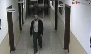 Yunanistan'a kaçan darbeci personelinin kaçışları kamerada!