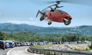 Uçan otomobil 2019'da yollarda!