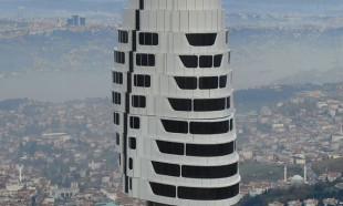 Çamlıca Kulesi'nde 10 kat tamamlandı