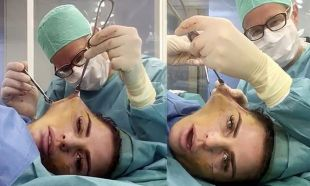 Operasyon sırasında doktoruyla sohbet etmişti! İşte son hali