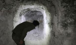 Resulayn ilçe merkezini kaplayan tünel sistemi ortaya çıkarıldı
