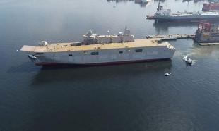 Türkiye'nin en büyük savaş gemisi için tarih verildi