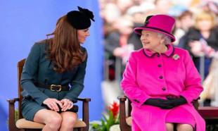 Kate'den Kraliçe'ye NATO desteği