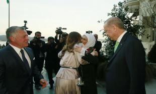 Başkan Erdoğan Ürdün Kralı'nı ağırladı!