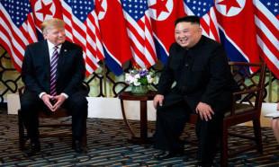 Trump ile Kim Jong Un ikinci kez bir araya geldi