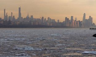 ABD'de donduran soğuklar! Nehirler buz tuttu