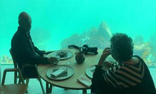Avrupa'nın ilk su altı restoranı 'Harika' Norveç'te açıldı
