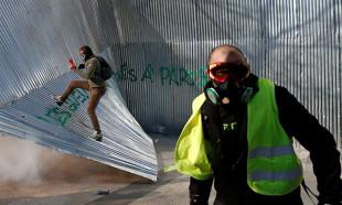 Fransa'da sarı yelekliler gösterilerin 20. haftasında sokaklarda
