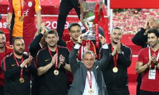 Galatasaray'ın Kupa zaferinden muhteşem kareler