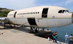 Batırılacak dev yolcu uçağının montajında sona gelindi