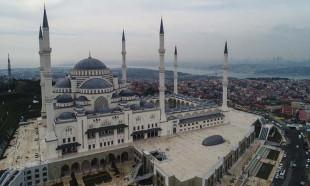 Büyük Çamlıca Camisi açılıyor