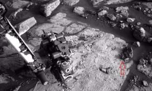 İşte Mars'tan şaşkına çeviren görüntüler