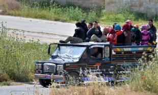 İdlib'de 250 bin kişi göç etti