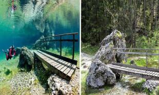 Kışın park, yazın da göle dönüşüyor...
