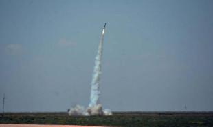 TEKNOFEST kapsamında Tuz Gölü'nde roketler fırlatıldı