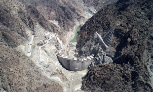 Yusufeli Barajı'nda 241 metre gövde yüksekliğine ulaşıldı