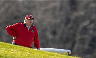 Trump seçimden sonra golfte de hayal kırıklığı yaşadı