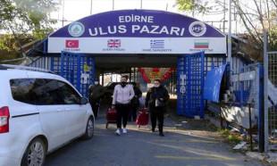 Edirne'nin meşhur Ulus Pazarı kapandı, Bulgar turistler geri döndü
