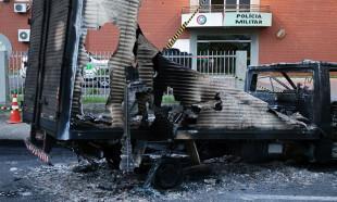 Brezilya'da savaş gibi banka soygunu