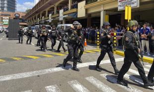 Filipinler'de dehşet! AVM'ye silahlı saldırı, rehineler var