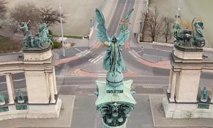 Dünyada korona virüs nedeniyle boşalan cadde ve sokakların görüntüleri