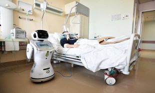 İşte korona virüs ile mücadele eden robotlar