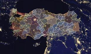 İşte ilçe ilçe korona virüs haritası