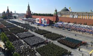 Korona virüs nedneiyle ertelenmişti! Rusya'da Zafer Günü töreni böyle düzenlendi