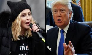 Madonna'dan Donald Trump'a: Nazi ve sosyopat