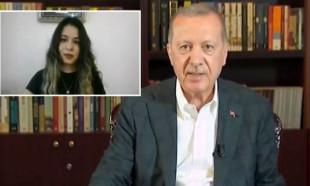 Erdoğan'a YKS'ye girecek öğrenciler, sınavın neden öne alındığını sordu