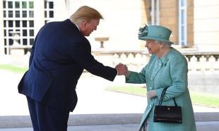ABD Başkanı Donald Trump, İngiltere Kraliçesi 2. Elizabeth'in 94. yaş gününü kutladı