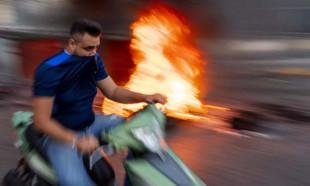 Lübnan'da ekmeğe yüzde 33 zam… Halk yolları trafiğe kapattı!