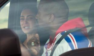 Otomobilde aile kavgası! Kim Kardashian gözyaşlarına boğuldu