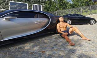Ronaldo dünyanın en pahalı arabasını aldı! Sadece 10 tane üretilmişti...