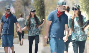 Mel Gibson 34 yaş küçük sevgilisiyle tatilde