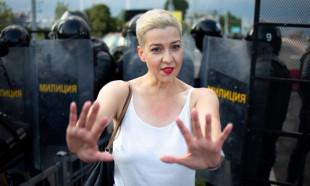 Kolesnikova: Başıma çuval geçirip kaçırmaya çalıştılar