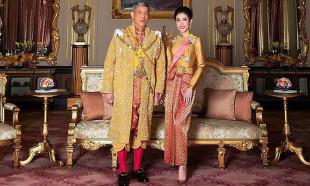 Tayland Kralı cezaevini süpürdü